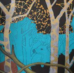 """Saatchi Art Artist Tania Ortega; Painting, """"Charmed"""" #art"""