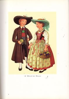 Hello all, Today I will do a costume tour of Tyrol, or Tirol. This famous region in the Austrian Alps has a distinct costume tradi. Austria, Folk Costume, Alps, Disney Characters, Fictional Characters, Italy, Embroidery, Disney Princess, German