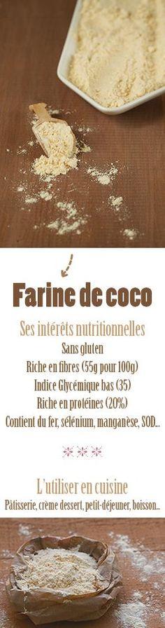 Farine de coo ♡ Ses intérêts nutritionnelles + savoir comment l'utiliser en cuisine