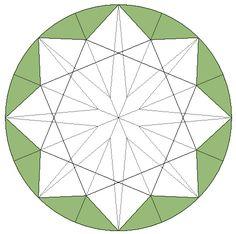 Afbeeldingsresultaat voor diamond cut pattern