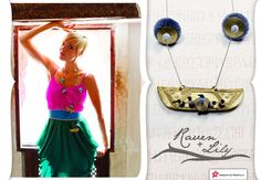 This necklace is definitely one of a kind and sure to be a hit with your friends and family. It goes well with any dress or outfit the gold piece is what really draws the eye in. A Raven and Lily Favorite and one of the most purchased.  http://modera.co/home/#get_prizes