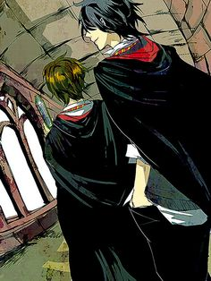 Harry Potter, James Potter, Sirius Black
