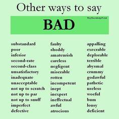 Other ways to say. English Writing Skills, Book Writing Tips, Writing Words, Essay Writing, English Vocabulary Words, Learn English Words, English Grammar, English Tips, English Lessons