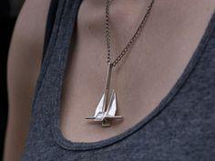 Anchor Necklace (danforth)