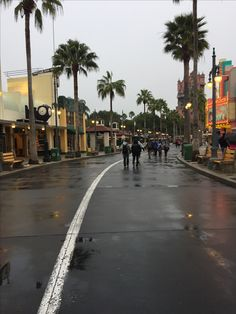Disney Hollywood Studios on a rainy morning.  Still a great place to be - can't wait for all the new changes!