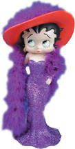 Betty Boop Chic Betty Figurine in Collectibles, Animation Art & Characters, Animation Characters Shades Of Purple, Red Purple, Red Hat Club, Jenny Joseph, Red Hat Ladies, Wearing Purple, Red Hat Society, String Of Pearls, Clay Figurine