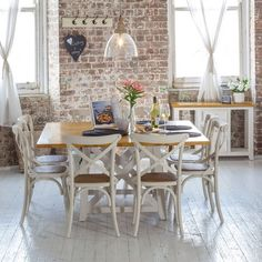 Newport 1500 Dining Package with French Cross Chairs - Products - 1825 interiors