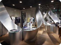 Propuestas en aluminio para interiorismo de locales comerciales
