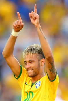 Neymar da Silva Santos Jr - Brazil World Cup 2014 Neymar Jr, World Cup 2014, Fifa World Cup, Psg, Messi, Cristiano Ronaldo, Paris Saint Germain Fc, Neymar Brazil, Superstar