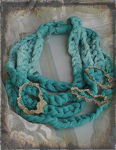 AQUAMARINE NECKLACE. Aquamarine Necklace, Turquoise Necklace, Crochet Necklace, Jewelry, Fashion, Moda, Jewlery, Jewerly, Fashion Styles