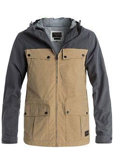 Quiksilver Cloverdaze - Jacke für Herren - Beige - Planet Sports