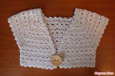 bolero en crochet patrones
