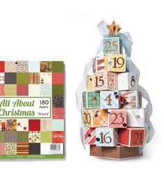 Make an Advent Tree with a little help from your favorite Wilton give boxes and @joannstores!