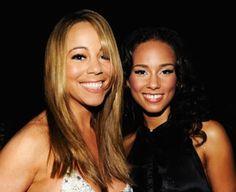 Mariah Carey visita Alicia Keys!!! Será que vem dueto por aí? ~ Rolling Soul