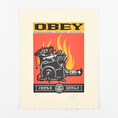 Which letterpress is your favorite ?  « Print and destroy letterpress » by Shepard Fairey (Obey). ✅ ✅ Available on soldart.com 📦 📦 Shipping worldwide with insurance and tracking number.  #shepardfairey #obeygiant #soldart #screenprint #serigraphie #artwork #oeuvredart #artforsale #artcollector #gallery #onlinegallery #onlineartgallery New Shepard, Shepard Fairey Obey, Art En Ligne, Galerie D'art, Selling Art, Tracking Number, Famous Artists, Oeuvre D'art, Online Art Gallery