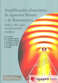 Amplificación plasmónica de espectros Raman y de fluorescencia SERS y SEF sobre nanoestructuras metálicas / Ricardo F. Aroca...[et al.]