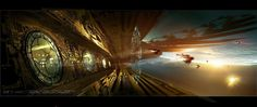 ArtStation - Titus Clipper detail sketch from Jupiter Ascending, George Hull