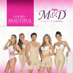 Molding your figure has never been so easy, Fajas M&D gives the possibility to you can feel sure, free and comfortable, this is a real dream that you can make come true, Fajas M&D secret's Body.