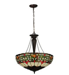 Creole 3 Light Inverted Pendant