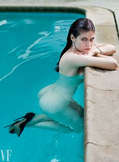 Alexandra Daddario - Vanity Fair 2014