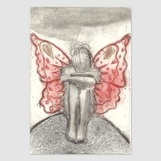 Trust your wings - Björg Thorhallsdottir Beautiful Drawings, Trust Yourself, Henna, Female, Tattoos, Art, Photos, Universe, Craft Art