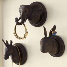 The Emily + Meritt Animal Wall Hooks | PBteen