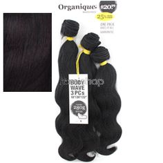 "Organique Body Wave 18""20""22"" - Color OT99J - Blend Weaving - 3 pcs"