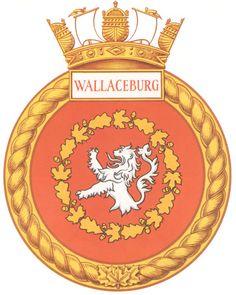 HMCS WALLACEBURG Badge - The Canadian Navy - ReadyAyeReady.com