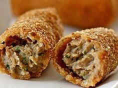 Dutch Croquettes, Beef Croquettes Recipe, Netherlands Food, Amsterdam Netherlands, A Food, Food And Drink, Great Recipes, Favorite Recipes, Perfect Food