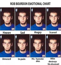 Haha Rob Bourdon - Linkin Park