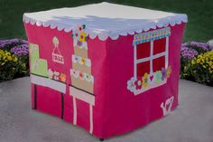 The CupCakery Card Table Playhouse White by missprettypretty