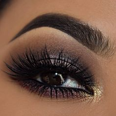 beautiful smoked out eye makeup