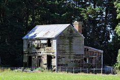 Old house, Rangitata Island, Canterbury, New Zealand. | Flickr - Photo Sharing!