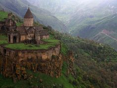 9 th century monastery of Tatev in Armenia