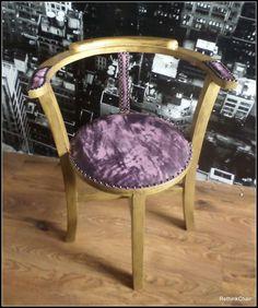 """Stühle - Stuhl Charakter Thonett """"purple rain"""" - ein Designerstück von hangyo bei DaWanda"""