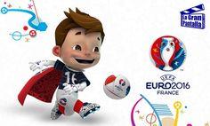 SUPERVICTOR la mascota de la EURO 2016