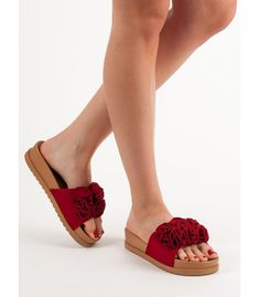 Červené šľapky Espadrilles, Sandals, Shoes, Fashion, Espadrilles Outfit, Shoes Sandals, Zapatos, Moda, Shoes Outlet