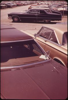 Parking Lot at the John F. Kennedy Airport 05/1973