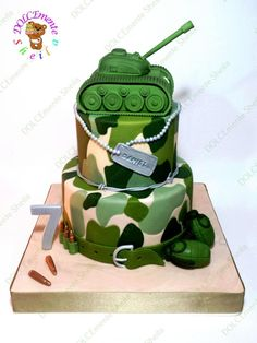 Military cake by Sheila Laura Gallo  (:Tap The LINK NOW:) We provide the best essential unique equipment and gear for active duty American patriotic military branches, well strategic selected.We love tactical American gear