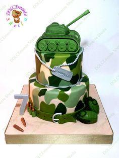 Resultado de imagen para tortas decoradas para militares