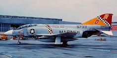 VMFA-312 F- 4J Phantom II of the USMC.