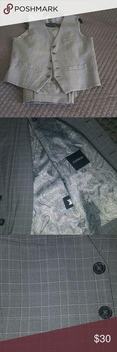 MENS Express vest MENS Express vest.  Pants sold seperately Express Jackets & Coats Vests