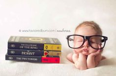 Switch LOTR to Harry Potter, and I think I will have Eva's newborn photo shoot all planned out.