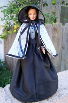 OOAK Jane Eyre Historical Period Gown for Barbie by Woven in Time | eBay