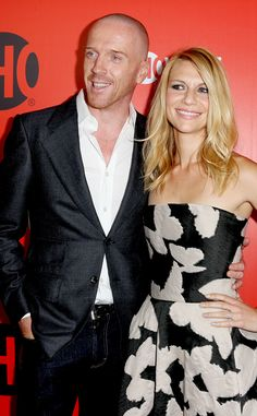 Damian Lewis & Claire Danes from 2013 Emmys: Party Pics