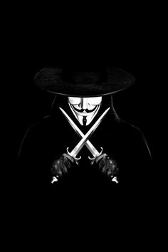 "V For Vendetta... ""He was Edmond Dantes"""