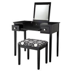 Vanity Set: Kayden Vanity Set - Black