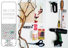 confetti lab: Winter Wonderland DIY: Hertenkop (100% diervriendelijk)