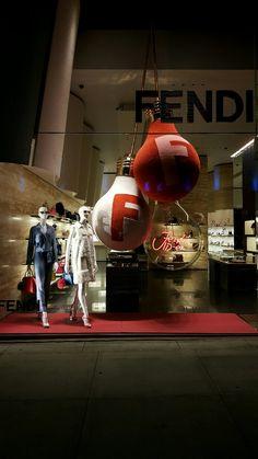 fendi pop up arrives at harrods retail focus retail interior design and visual merchandising. Black Bedroom Furniture Sets. Home Design Ideas