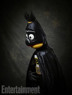 Being a hero is hard work! But we think Bert definitely has the bone structure to pull off the Caped Crusader look :) (via EW)